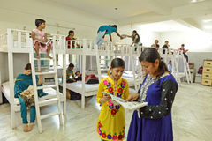 Niños del VIH de NGO For Imágenes de archivo libres de regalías