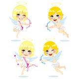 Niños dulces del Cupid Imagen de archivo libre de regalías