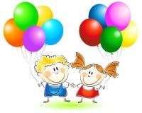 Niños el día de fiesta Imágenes de archivo libres de regalías