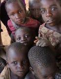 Niños en África Foto de archivo