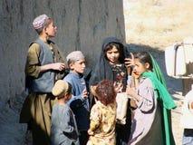 Niños en Afganistán Fotos de archivo