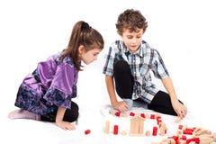Niños en el juego Fotos de archivo libres de regalías