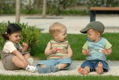 Niños en el parque 29 imagen de archivo libre de regalías