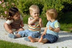 Niños en el parque 31 fotografía de archivo libre de regalías
