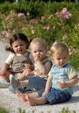 Niños en el parque 32 fotografía de archivo libre de regalías