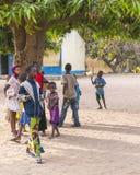 Niños en escuela Fotografía de archivo