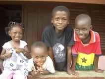 Niños en Ghana Imagenes de archivo