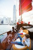 Niños en Hong Kong fotografía de archivo