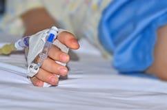 Niños en hospitales Fotografía de archivo libre de regalías