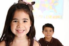 Niños en la escuela Fotos de archivo