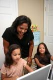 Niños en la escuela Foto de archivo libre de regalías