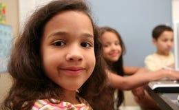 Niños en la escuela Imagen de archivo libre de regalías