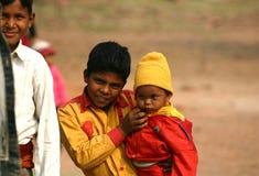 Niños en la India Fotos de archivo libres de regalías