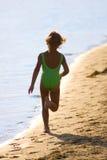 Niños en las series del verano Fotografía de archivo