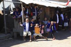 Niños en Madagascar Imagenes de archivo