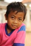 Niños en pobreza Imágenes de archivo libres de regalías