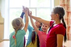 Niños en una lección Imagenes de archivo