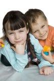 Niños encantadores Fotos de archivo libres de regalías