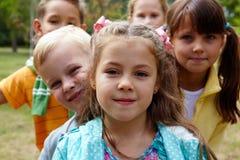 Niños felices Fotografía de archivo libre de regalías