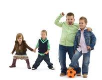Niños felices Fotografía de archivo