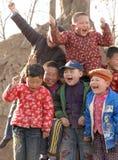 Niños felices de la risa Foto de archivo libre de regalías