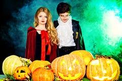 Niños Halloween Imagen de archivo