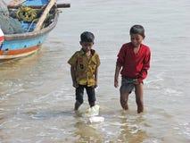 Niños indios Imagen de archivo
