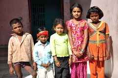 Niños indios Imágenes de archivo libres de regalías