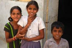 Niños indios Foto de archivo libre de regalías