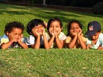 Niños indios lindos foto de archivo