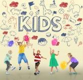 Niños Joy Happy Child Concept de los niños Foto de archivo