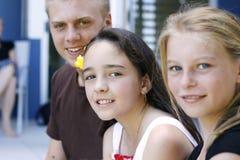 Niños junto Fotos de archivo