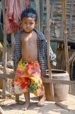Niños laosianos del hmong Imagen de archivo libre de regalías