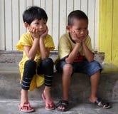 Niños malasios Imágenes de archivo libres de regalías