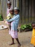 Niños malgaches foto de archivo