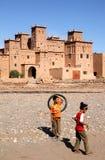 Niños marroquíes Imágenes de archivo libres de regalías