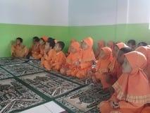Niños musulmanes foto de archivo