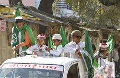 Niños musulmanes indios Imagen de archivo