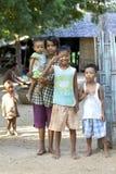 Niños Myanmar Birmania Fotos de archivo