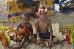 Niños nativos Fotos de archivo
