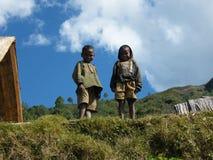 Niños nativos malgaches fotografía de archivo libre de regalías