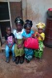 Niños nigerianos Imagen de archivo libre de regalías
