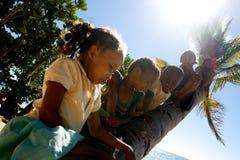 Niños Nosy de Sakatia Foto de archivo libre de regalías