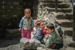 Niños paquistaníes Foto de archivo libre de regalías