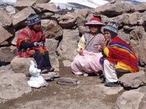 Niños peruanos Imagen de archivo libre de regalías