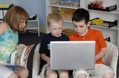 Niños preescolares imagen de archivo libre de regalías