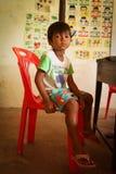 Niños privados ayuda en Tailandia Imagen de archivo