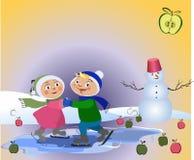 Niños románticos Libre Illustration