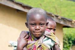 Niños ruandeses Imágenes de archivo libres de regalías