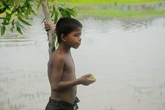 Niños rurales foto de archivo libre de regalías